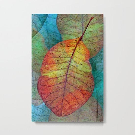 Fallen leaves II Metal Print