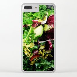 Greens Are Good Clear iPhone Case