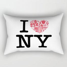 I everything NY Rectangular Pillow