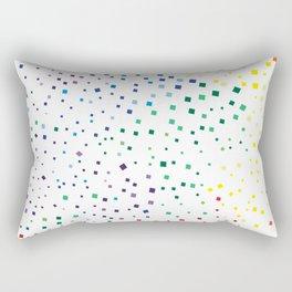 rainbow color geometric Rectangular Pillow