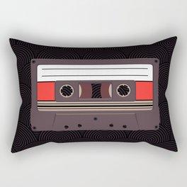 Compact Cassette Rectangular Pillow
