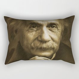 Albert Einstein Rectangular Pillow