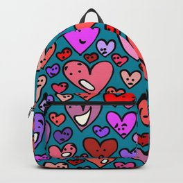 #MindfulHearts #faces Backpack