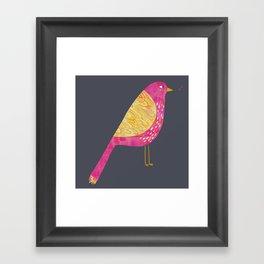 Sarcastic Bird Framed Art Print