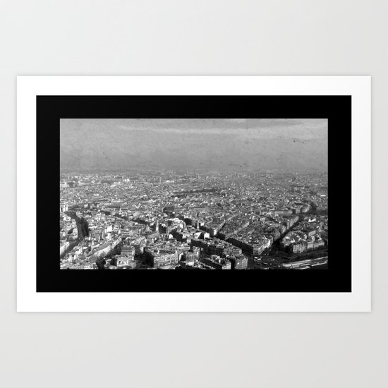 Le Skyline - Paris Art Print