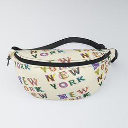 New York New York Fanny Pack
