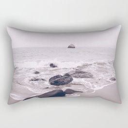Malibu Coast, Ocean Rectangular Pillow
