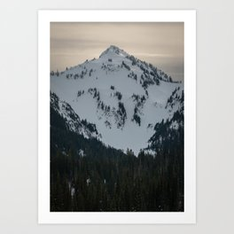 Top of The Tatoosh Art Print