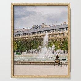 Jardin du Palais Royal V Serving Tray