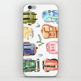Backpacks iPhone Skin