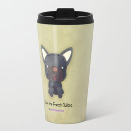 Duke the French Bulldog by leatherprince Travel Mug