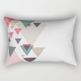 Triângulos ligados Rectangular Pillow