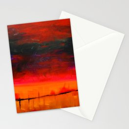 From a Nightmare II, Acrylics on Canvas Stationery Cards