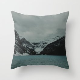 Spellbound - At Lake Louise Throw Pillow