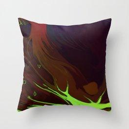 Nitrogen Throw Pillow