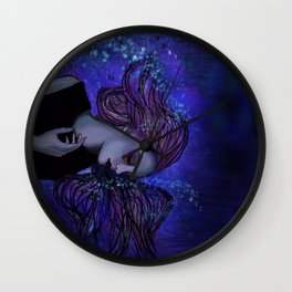 Ocean Embrace Wall Clock