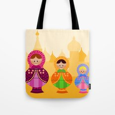 Matrioskas 2 (Russian dolls 2) Tote Bag