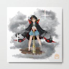 Kill la Kill - Fight Club President Mako! Metal Print