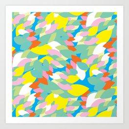 BP 59 Abstract Leaves Art Print