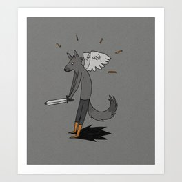 Pùnch! Art Print