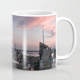 New York City at Sunset Coffee Mug
