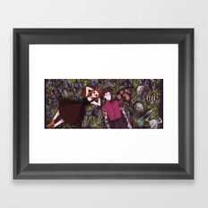 Hades' Holiday Framed Art Print