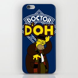 Doctor D'oh iPhone Skin