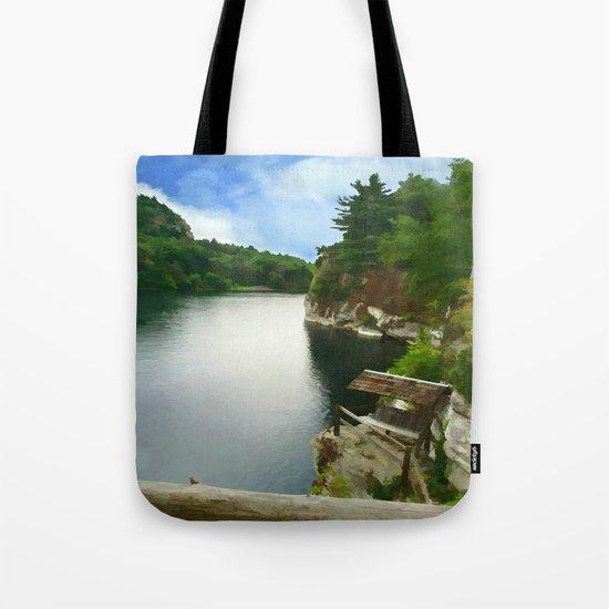 Majestic Mohonk Lake Tote Bag