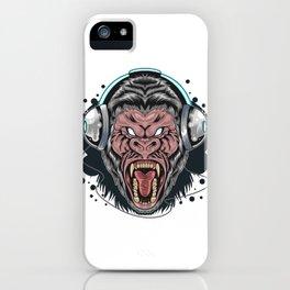 Gorilla Head Phone iPhone Case