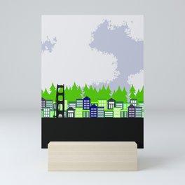 San Francisco Pop Mini Art Print