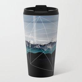 Mountains II Metal Travel Mug