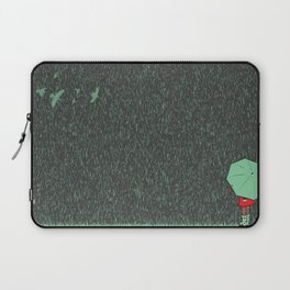 rain falls Laptop Sleeve