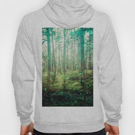Magical Green Forest - Nature Photography Hoody