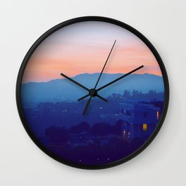 Complementary Twilight Wall Clock