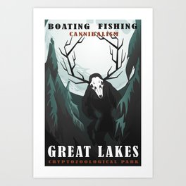 CPS Great Lakes Art Print