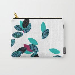 Aztec leafs Ioo Carry-All Pouch