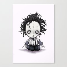 Plush Scissorhands  Canvas Print