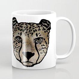 Cheetah Spraypaint Coffee Mug