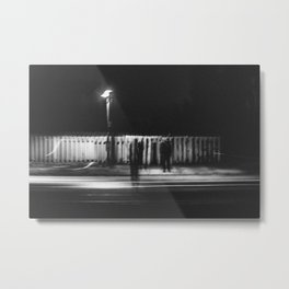 Only Shadows Metal Print