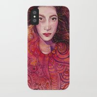 witch iPhone & iPod Cases featuring WITCH by Verismaya