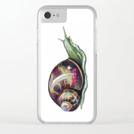 Slow Coach Clear iPhone Case