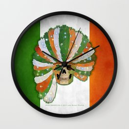 IRISH-AMERICAN 021 Wall Clock
