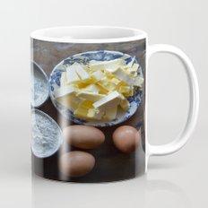 Cake ingredients Mug