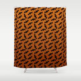 BAT CRAZY Shower Curtain