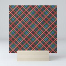 Scottish Tartan  Mini Art Print