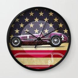 Indianapolis Racetrack Vintage Wall Clock