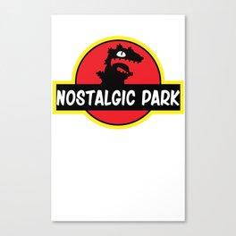 Reptar Park Canvas Print