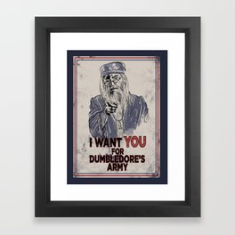 Uncle Dumbledore Framed Art Print