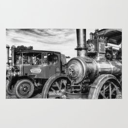 Steam Lorry And Traction Engine Rug