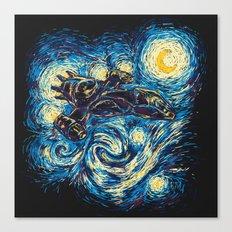 Starry Flight (Serenity) Canvas Print